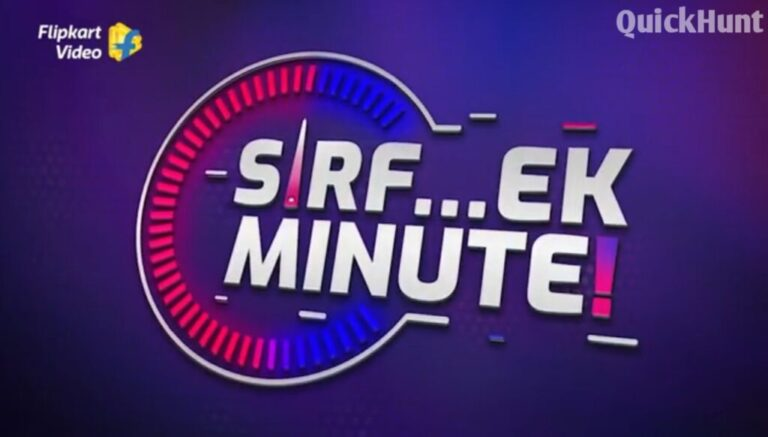 Sirf Ek Minute Quiz Answers Today